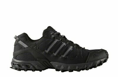 Mens Adidas Rockadia Trail Running Shoes Size 7 7.5 8 Black Gray Grey BY1791