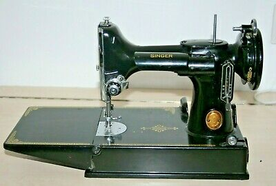 Singer Feather Weight 221k  Portable Electric Sewing Machine Frame Only