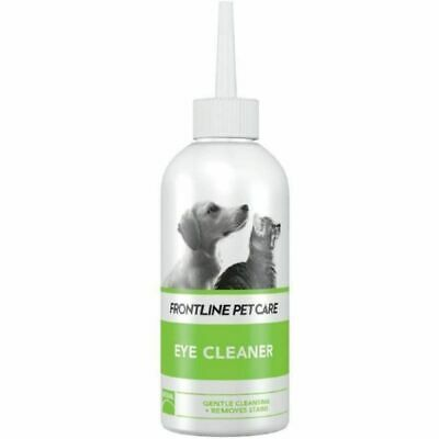 FRONTLINE PET CARE Eye Cleaner neutral cleansing solution debris stains Dog Cat