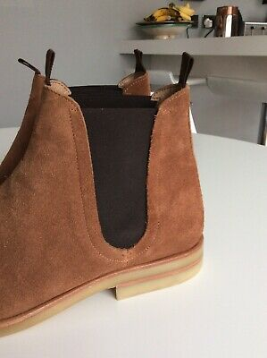 152502663e19b MENS CHELSEA BOOTS Size 7 By Hudson. Brown Suede. Great Condition ...