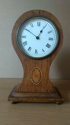 Antique French Style 'Balloon' Mantle Clock