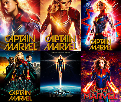 Magnet cover for steelbook Captain Marvel Blu-ray