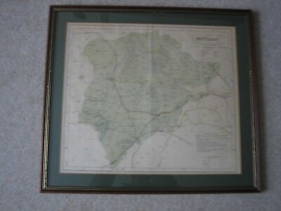 Map Rutland Letts Son & Co Limited