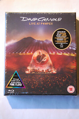 David Gilmour: Live At Pompeii-Deluxe Box (2017) 2 CDs + 2 Blu-Rays, NEU, OVP