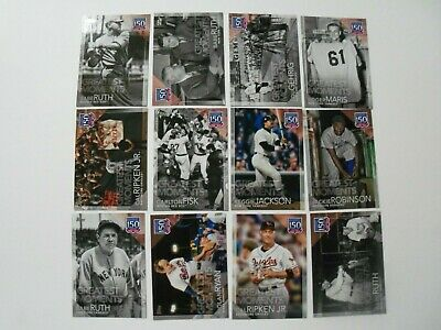 2019 Topps Series 1 150 YEARS of PROFESSIONAL BASEBALL You Pick from Drop List