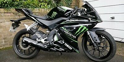 2015 Yamaha YZF R125 Monster replica  *Spare or Repair* *No Reserve*