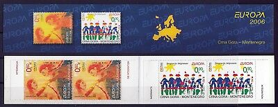 Montenegro 2006 Europa CEPT very nice booklet MNH
