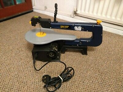 120 WATT Single Speed Scroll Saw With Laser And Air Blower