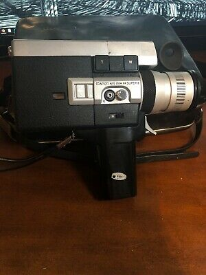 Canon Auto Zoom 518 Super 8 Movie Camera w/ Original Case