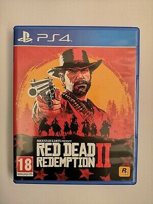 Red Dead Redemption 2 Ps4 Playstation 4 Comme Neuf PAL (FR)