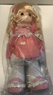 1994 Precious Moments Doll AMBER #1053 Still Sealed In Plastic. New