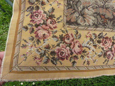 Gorgeous Vintage French Tapestry Wall Hanging, Sublime 18th C Rural Scene