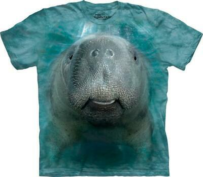 "The Mountain Erwachsenen T-Shirt ""Big Face Manatee"" Gr.S - 5XL"