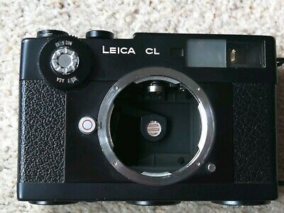 Leica CL 35mm Rangefinder Film Camera Body Only please read