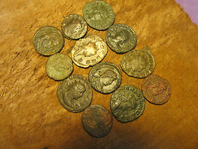 Authentic Ancient Roman Imperial LOT 12 ATTRIBUTABLE coins!
