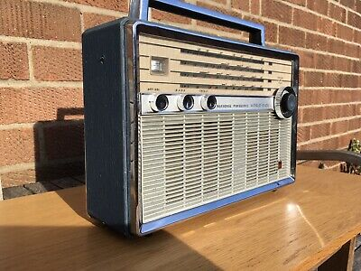 Vintage 1966 National Panasonic T-100D World Band Receiver Radio Fully Working