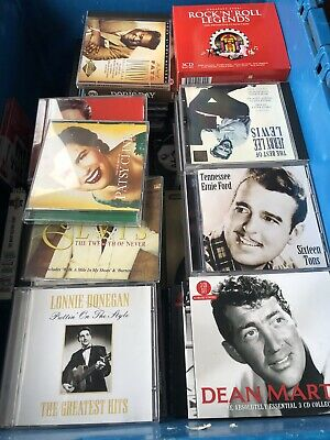 Large CD Collection Mixed Genre Pop Soul Jazz Easy Listening
