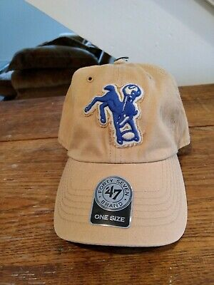 1bbfa3dcfa4d1 ... sale indianapolis colts 47 brand clean up hat adjustable cap legacy  318af 8861c