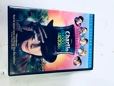 Charlie and the Chocolate Factory Full Screen Edition Roald Dahl free shipping