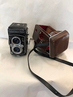 Yashica MAT TLR Camera w/Original Case from Japan