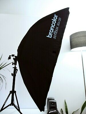 Broncolor Striplight Softbox 30 x 120 cm with Speed Ring, Diffuser and Grid