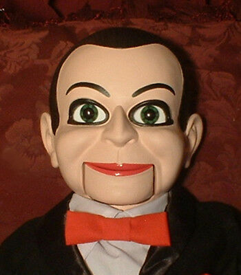 """HAUNTED Ventriloquist Doll """"EYES FOLLOW YOU"""" Puppet Dead Silence Billy Dummy"""