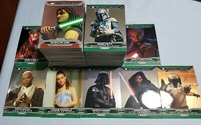 Lot Of 200 2015 Star Wars Chrome Perspectives Trading Cards Swccg
