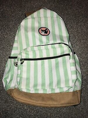 989718e56b6498 RARE Camp Flog Gnaw Festival 2016 Official Striped Backpack Suede Golf Wang  OF