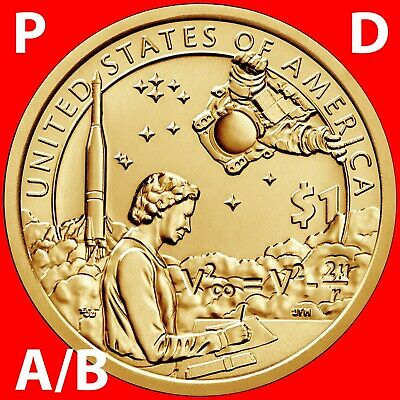 2019 P&d Position A&b - Sacagawea Native American Dollar Uncirculated Set
