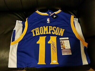 timeless design 68567 3f73a WARRIORS KLAY THOMPSON SIGNED AUTO BASKETBALL 11x14 PHOTO ...