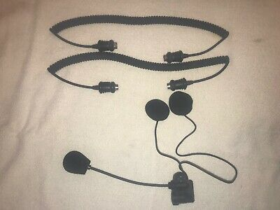 Harley Davidson Intercom Cords and Headset