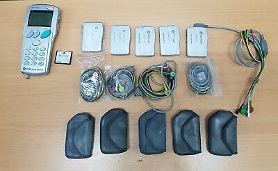 5x GE Seer Light 24-Hour Compact Digital Holter ECG Recorder with software