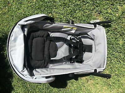 Silver Second Toddler Seat For Steelcraft Strider Plus  Pram