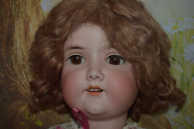 "Antique Bisque Gebruder Kuhnlenz Doll ( 30"" tall) mold 165"