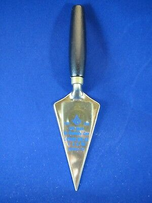 Original Vintage 1979 Mason Trowel- Williamsport PA Masonic Lodge 22- 200 Years