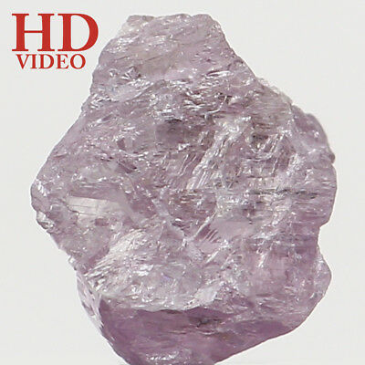 Natural Loose Diamond Rough I3 Clarity Pink Color 4.40 MM 0.34 Ct KR1472