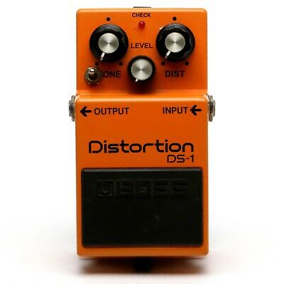 MOD - BOSS DS-1 Distortion Guitar Effect Pedal