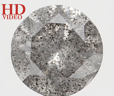 Natural Loose Diamond Round I3 Clarity Grey Color 5.50 MM 0.71 Ct KR1480