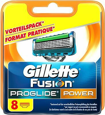 Original Genuine Gillette Fusion Proglide Power Shaving Cartridges Razors Blades