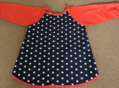 More Stars Art Smock Handmade & Gorgeous AGE 4-7 Perfect For School Or Home
