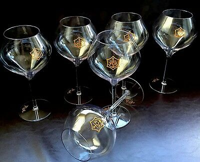 Veuve Clicquot Rich Polycarbonate Xl Champagne Flutes Hot Tub X 6 Unboxed