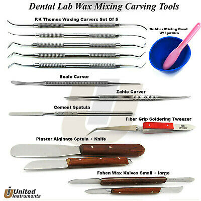 Dental Lab Technician Tools Kit P.k Thomas Carvers Zahle, Beale Cement Spatulas