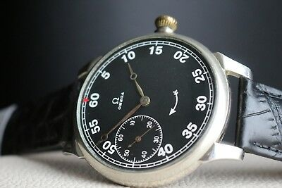 OMEGA Vintage 1930`s CAL 40,6 L.T2.15P MILITARY STYLE Swiss Men`s Wrist Watch