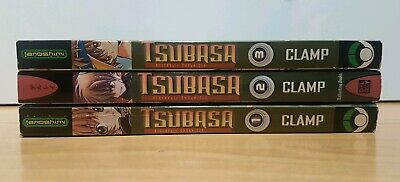 TSUBASA RESERVOIR CHRONICLE CLAMP 1-3 Manga Collection Complete Set Run ENGLISH
