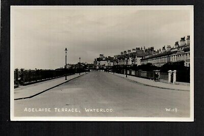 Waterloo, Adelaide Terrace - near Liverpool - real photographic postcard
