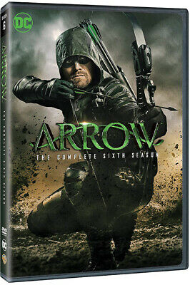 Arrow - Season 6 (six) Complete DVD Box Set Brand New and Sealed - REGION 2 (UK)