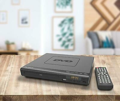 Small Compact DVD Player Multi Region Remote HDMI USB Watch Movies Music Format