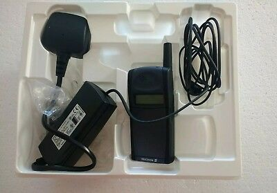 Vintage Ericsson PF768 mobile (with box, manual, charger and case)