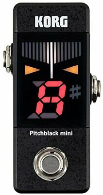 KORG Pitchblack mini PB-MINI Tuner NEW Guitar Effects Pedal Japan