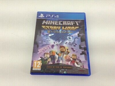 Juego Ps4 Minecraft: Story Mode Ps4 4424742
